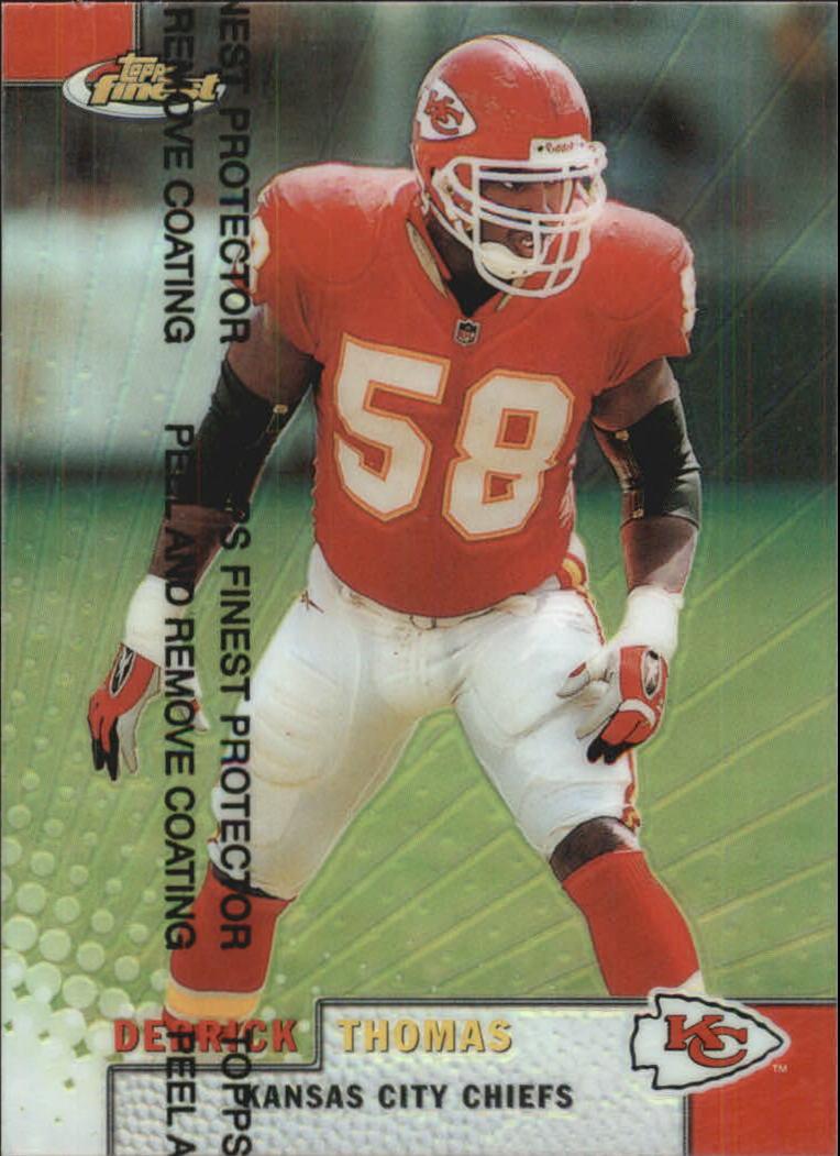 1999 Finest Refractors #18 Derrick Thomas
