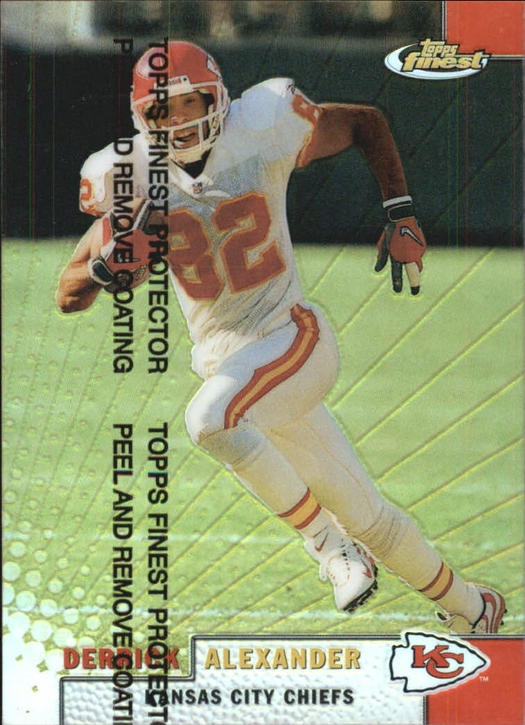 1999 Finest Refractors #33 Derrick Alexander
