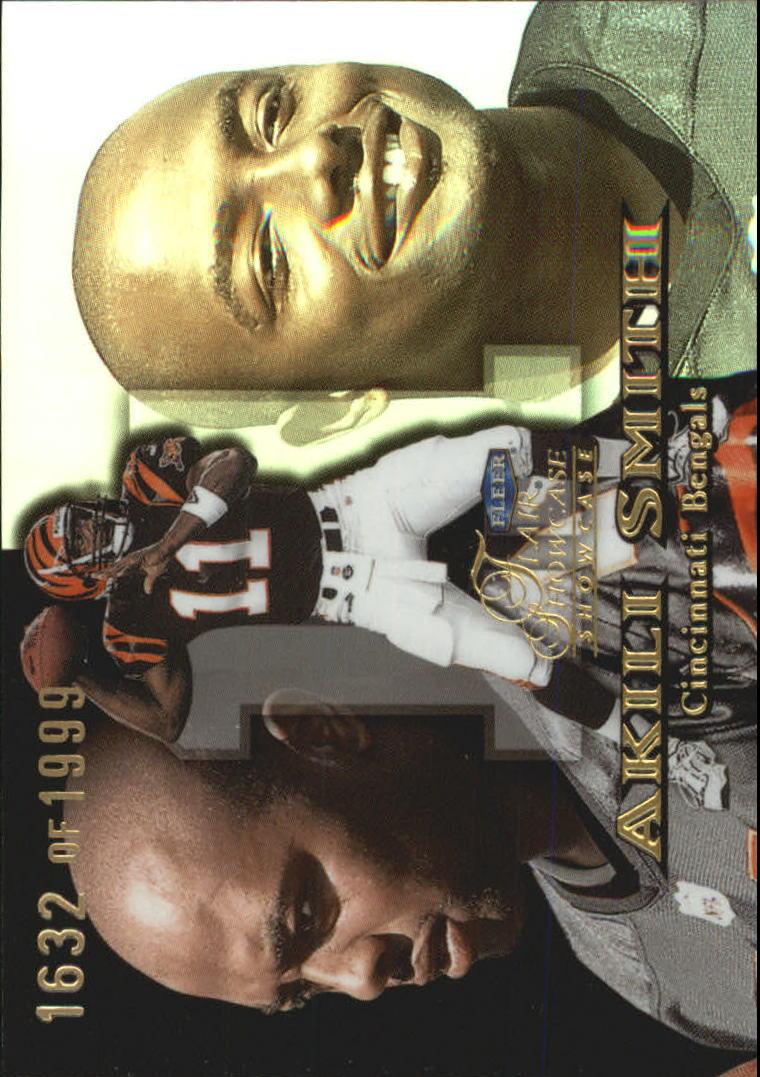1999 Flair Showcase #189 Akili Smith RC