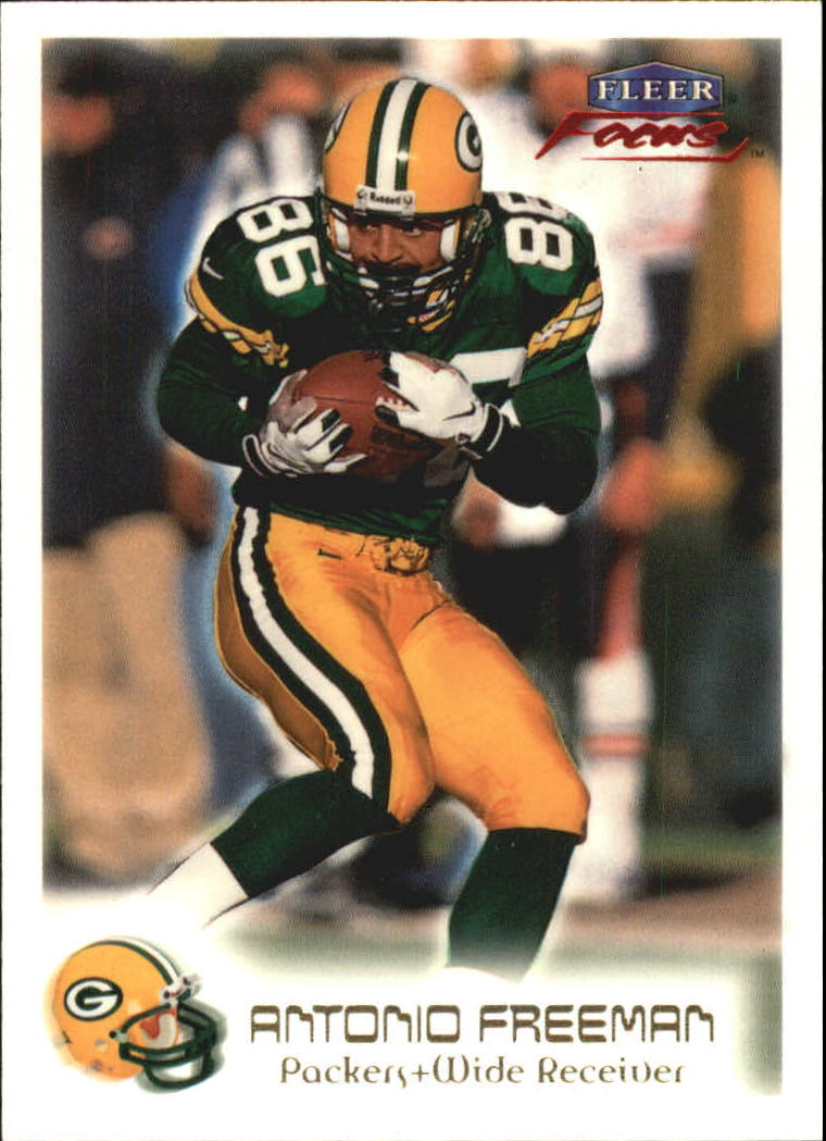 1999 Fleer Focus #56 Antonio Freeman