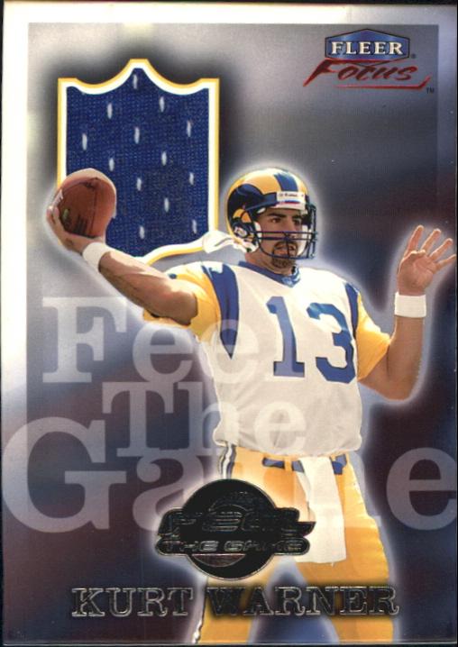 1999 Fleer Focus Feel the Game #10FG Kurt Warner