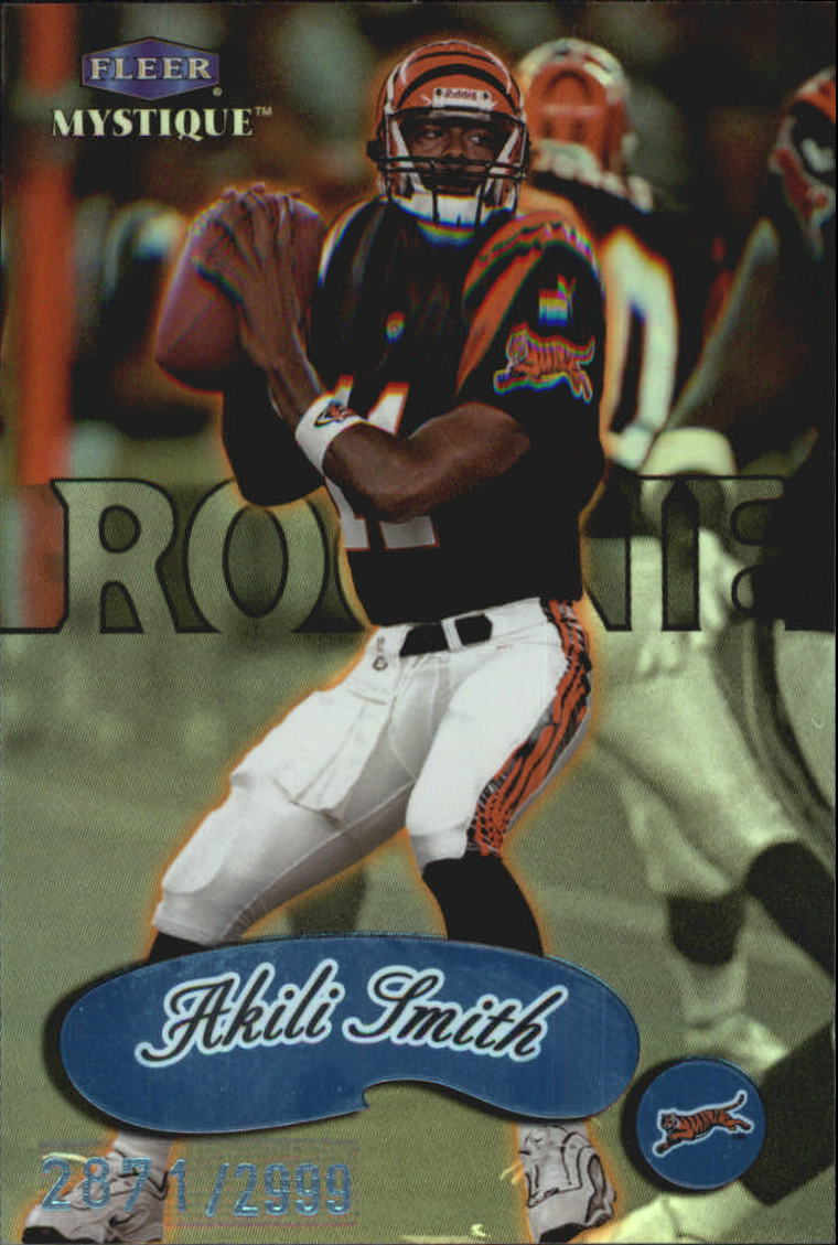 1999 Fleer Mystique #103 Akili Smith RC