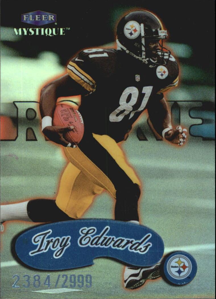 1999 Fleer Mystique #133 Troy Edwards RC