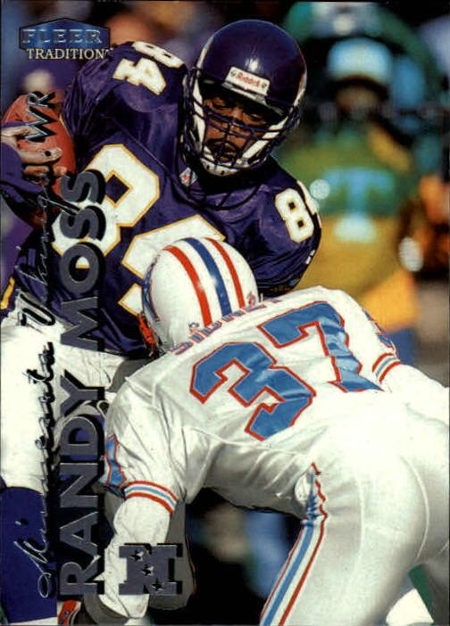 1999 Fleer Tradition #1 Randy Moss
