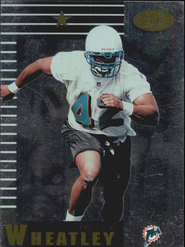 1999 Leaf Certified #51 Tyrone Wheatley