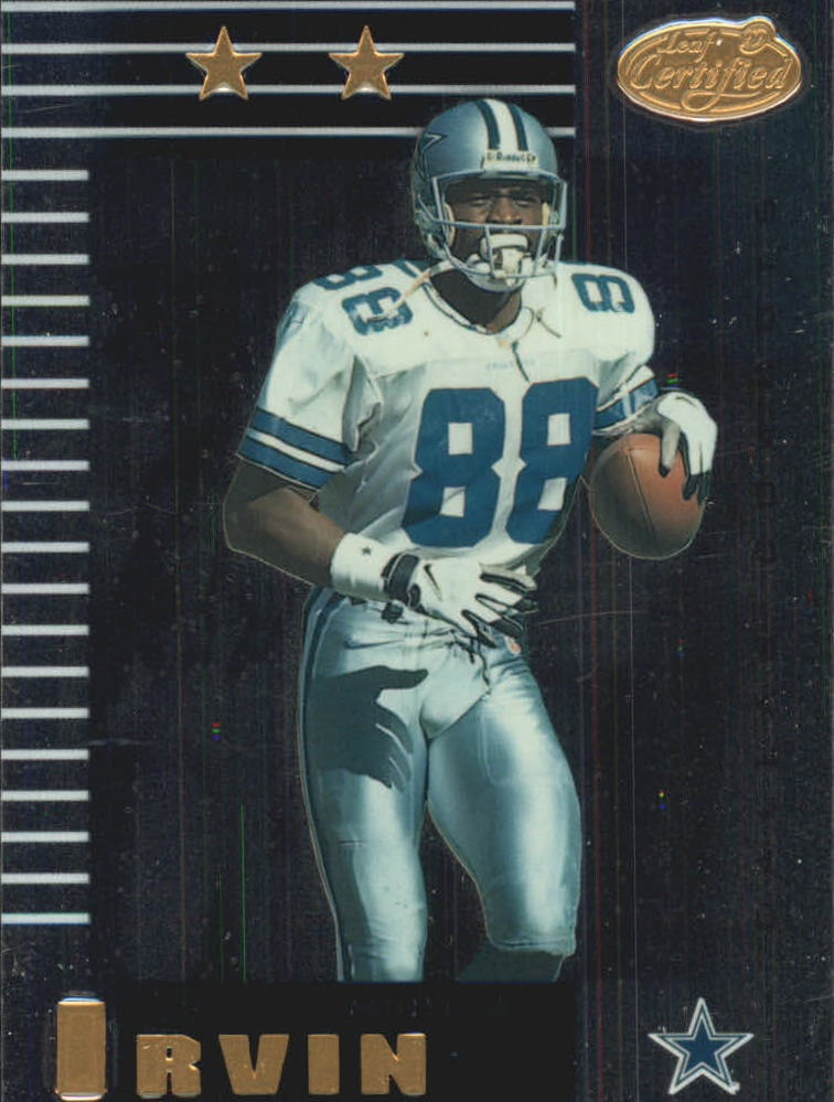 1999 Leaf Certified #114 Michael Irvin