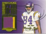 1999 Leaf Certified Gridiron Gear #RM84H Randy Moss Purple