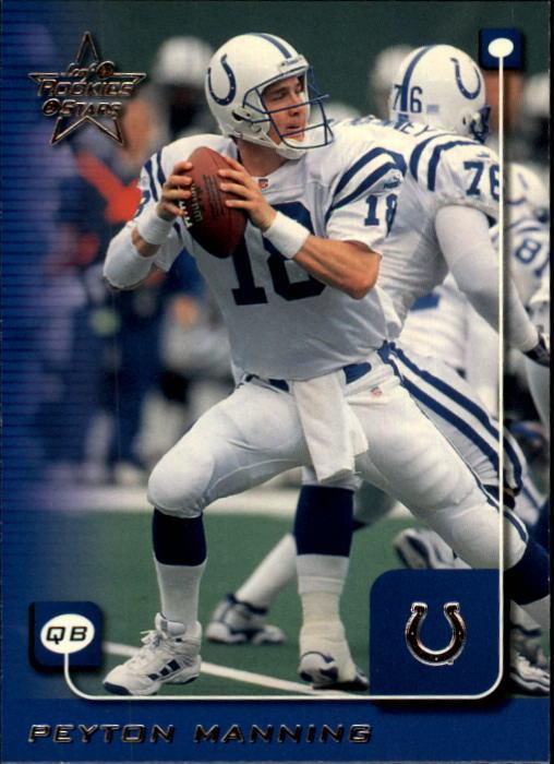 1999 Leaf Rookies and Stars #86 Peyton Manning