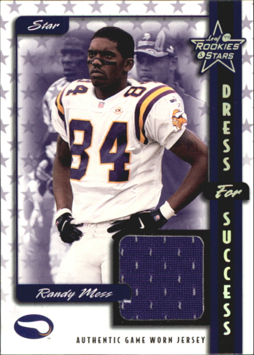 1999 Leaf Rookies and Stars Dress For Success #16 Randy Moss