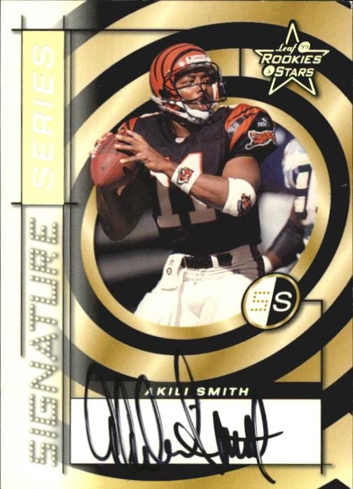 1999 Leaf Rookies and Stars Signature Series #SS26 Akili Smith