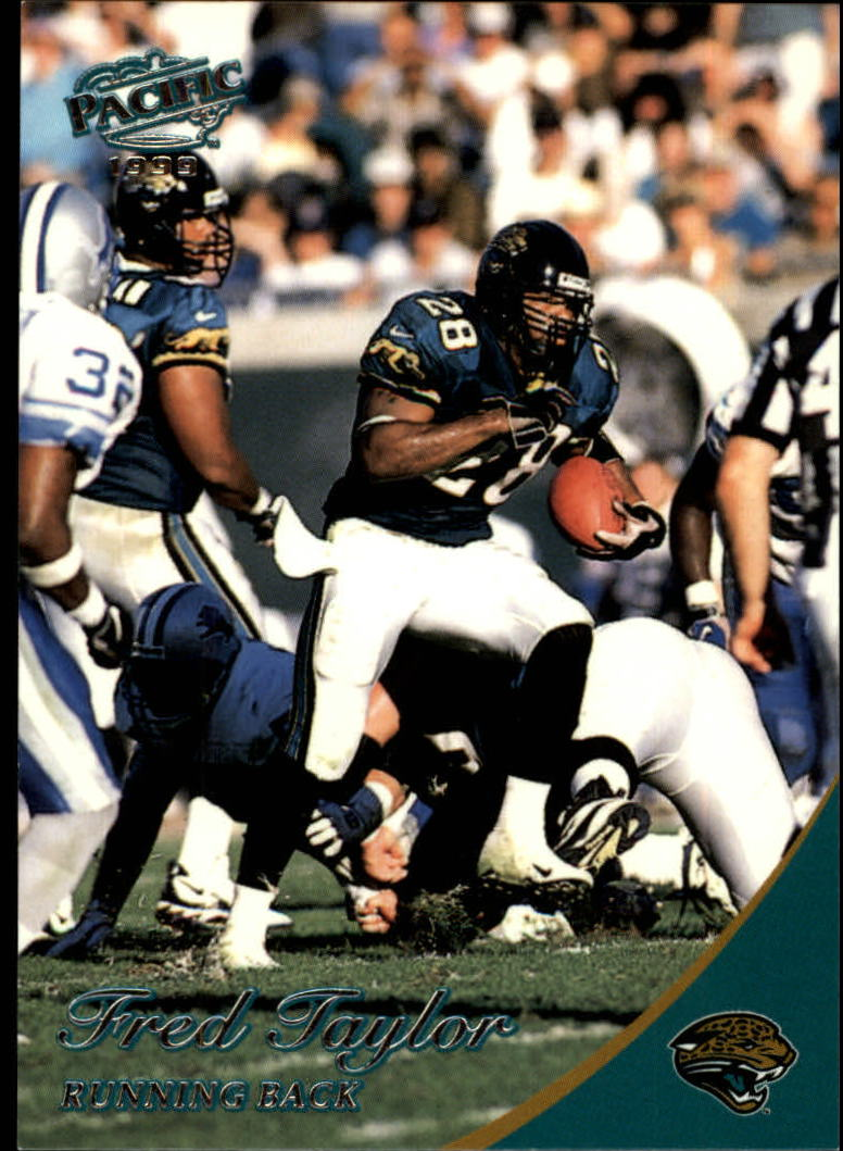 1999 Pacific #187 Fred Taylor