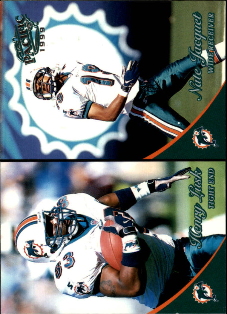 1999 Pacific #216 Henry Lusk/Nate Jacquet RC