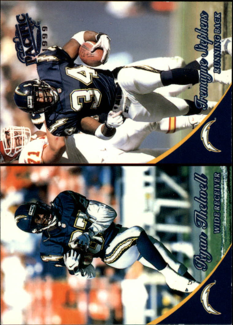 1999 Pacific #353 Tremayne Stephens/Ryan Thelwell RC