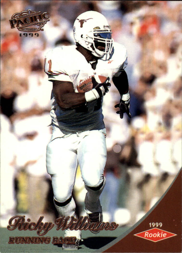 1999 Pacific #449 Ricky Williams RC