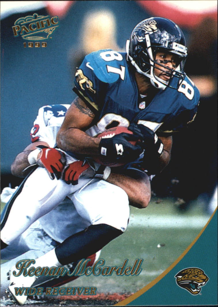 1999 Pacific Gold #183 Keenan McCardell
