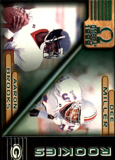 1999 Pacific Omega #97 Aaron Brooks RC/Dee Miller RC