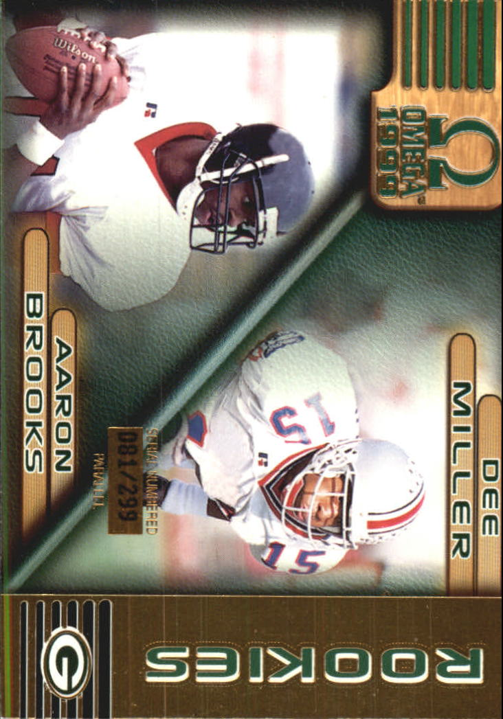 1999 Pacific Omega Gold #97 A.Brooks/D.Miller