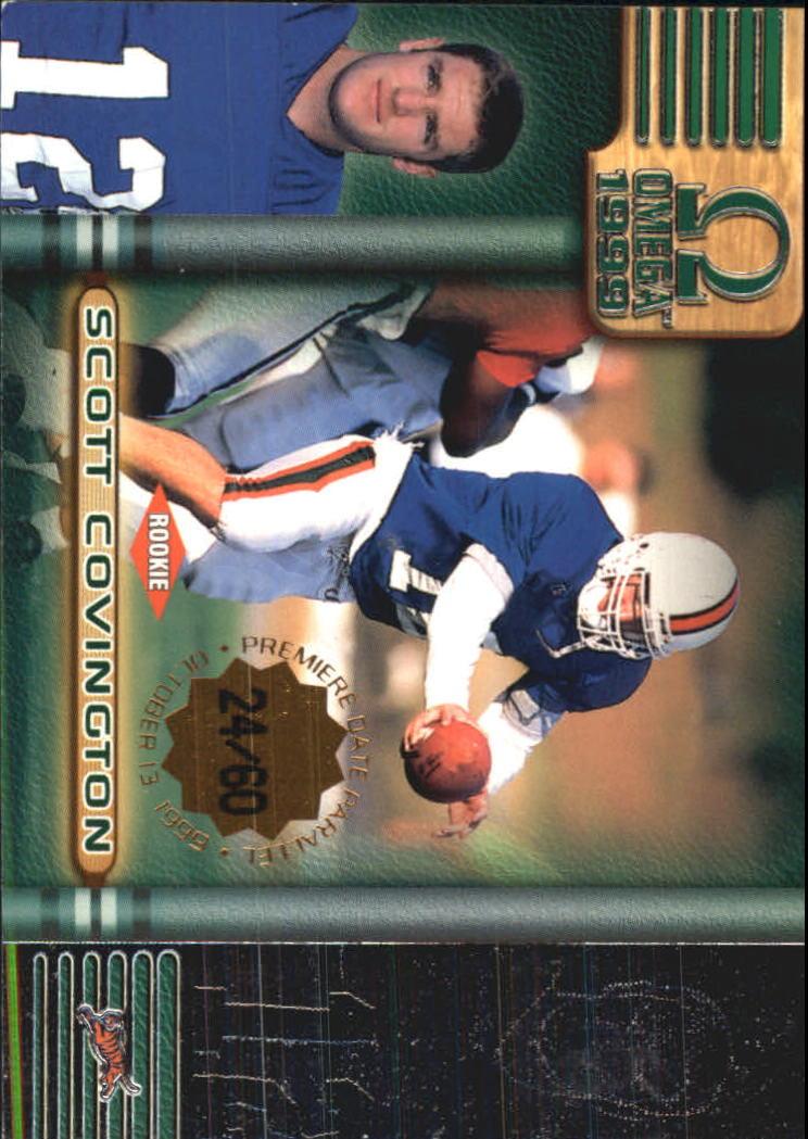 1999 Pacific Omega Premiere Date #50 Scott Covington
