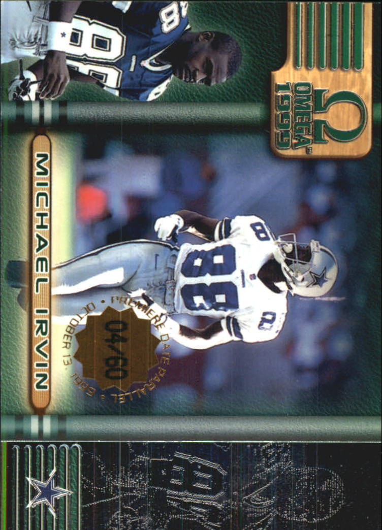 1999 Pacific Omega Premiere Date #66 Michael Irvin
