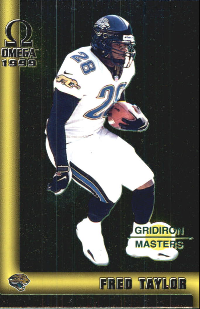 1999 Pacific Omega Gridiron Masters #19 Fred Taylor