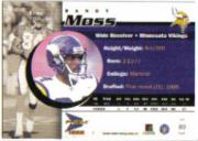 1999 Pacific Prisms #83 Randy Moss back image