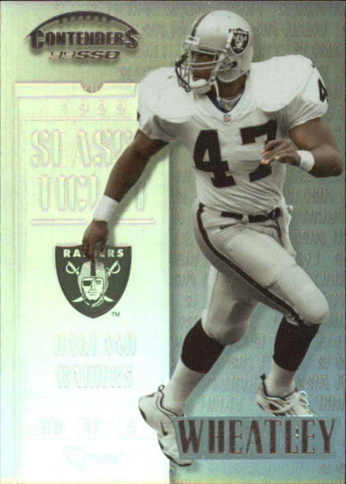 1999 Playoff Contenders SSD #139 Tyrone Wheatley