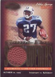 1999 Playoff Contenders SSD Game Day Souvenirs #GS7 Eddie George