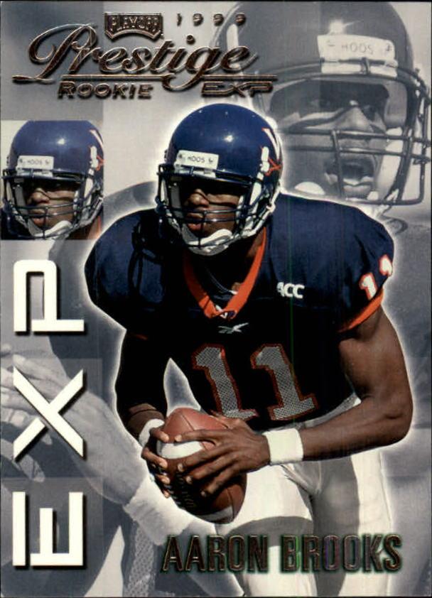 1999 Playoff Prestige EXP #4 Aaron Brooks RC