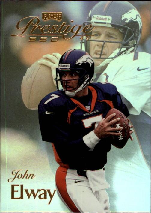 1999 Playoff Prestige SSD #37 John Elway