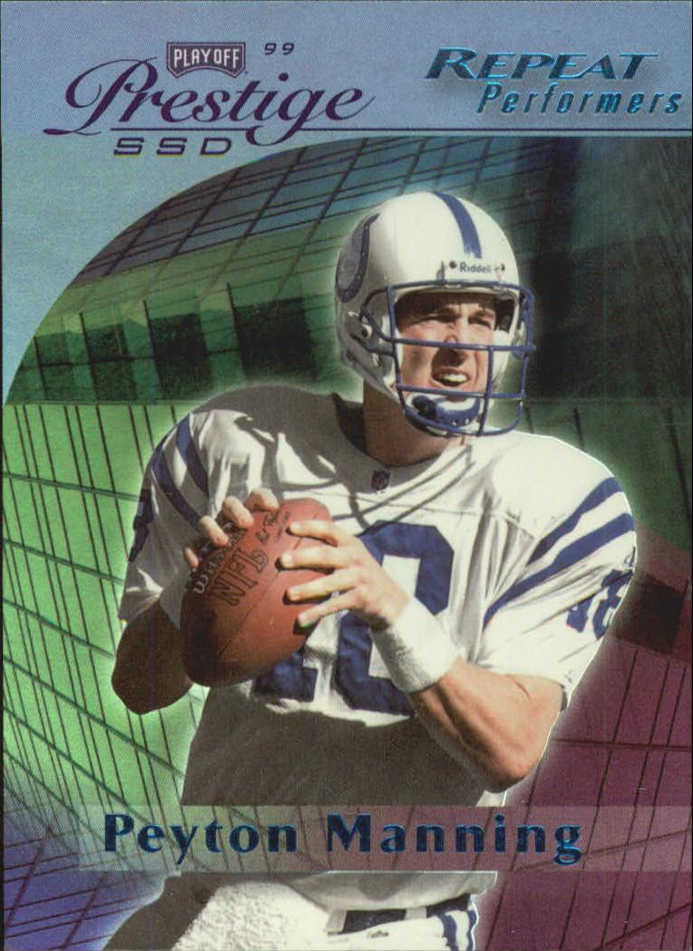 1999 Playoff Prestige SSD Spectrum Blue #152 Peyton Manning RP