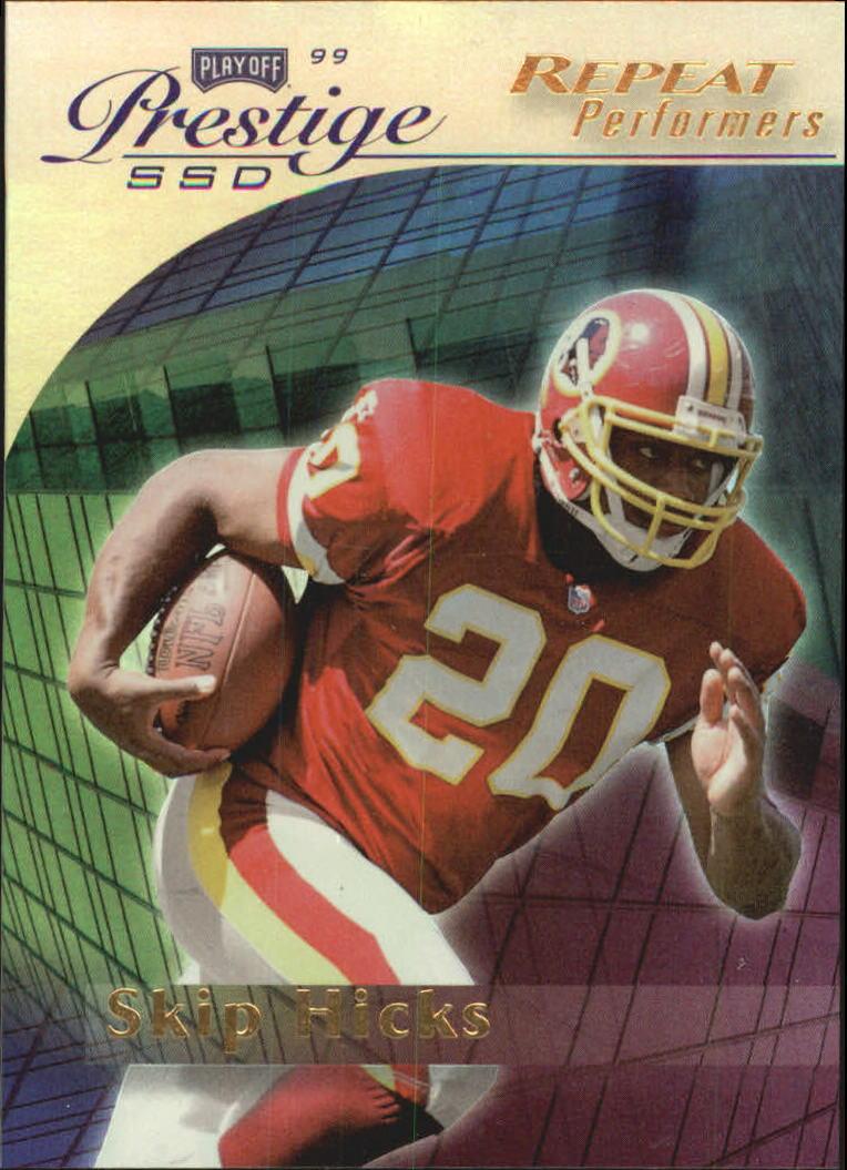 1999 Playoff Prestige SSD Spectrum Gold #159 Skip Hicks RP