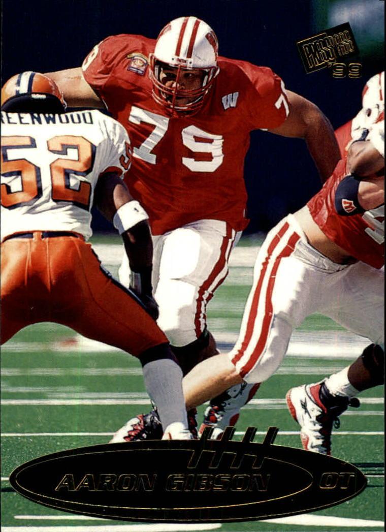 1999 Press Pass #41 Aaron Gibson
