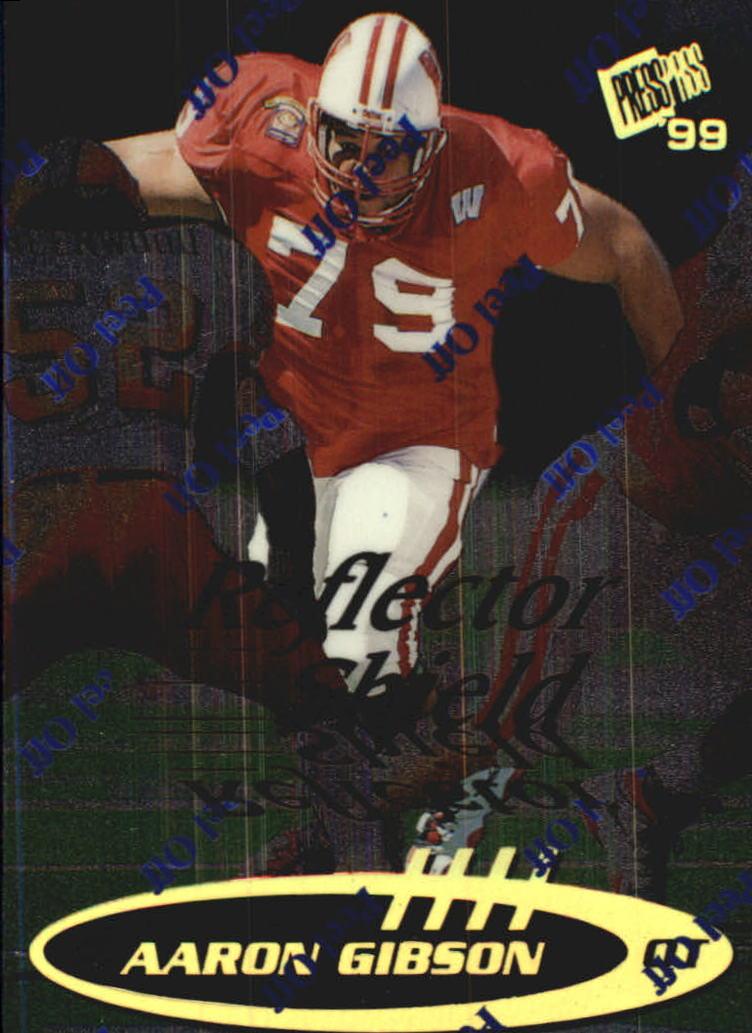 1999 Press Pass Reflectors #41 Aaron Gibson