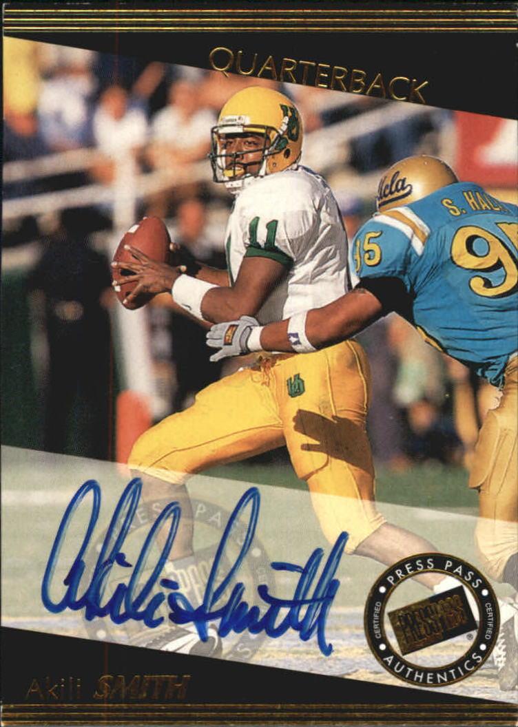 1999 Press Pass Autographs #7 Akili Smith