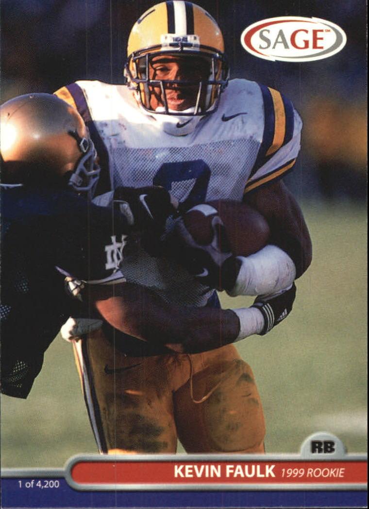 1999 SAGE #18 Kevin Faulk