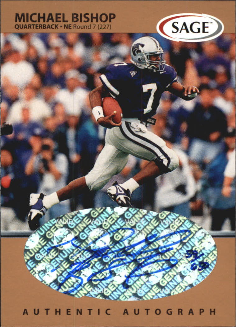 1999 SAGE Autographs Bronze #A5 Michael Bishop/650