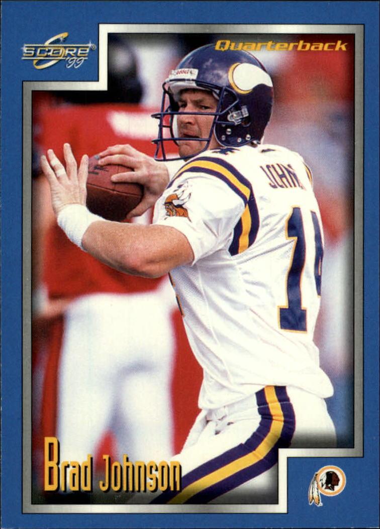 1999 Score #44 Brad Johnson