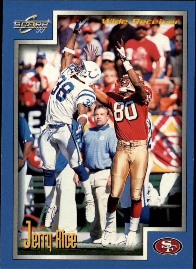 1999 Score #72 Jerry Rice