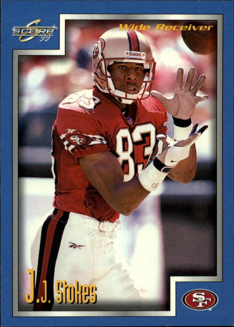 1999 Score #76 J.J. Stokes