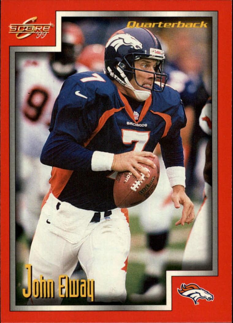 1999 Score #184 John Elway