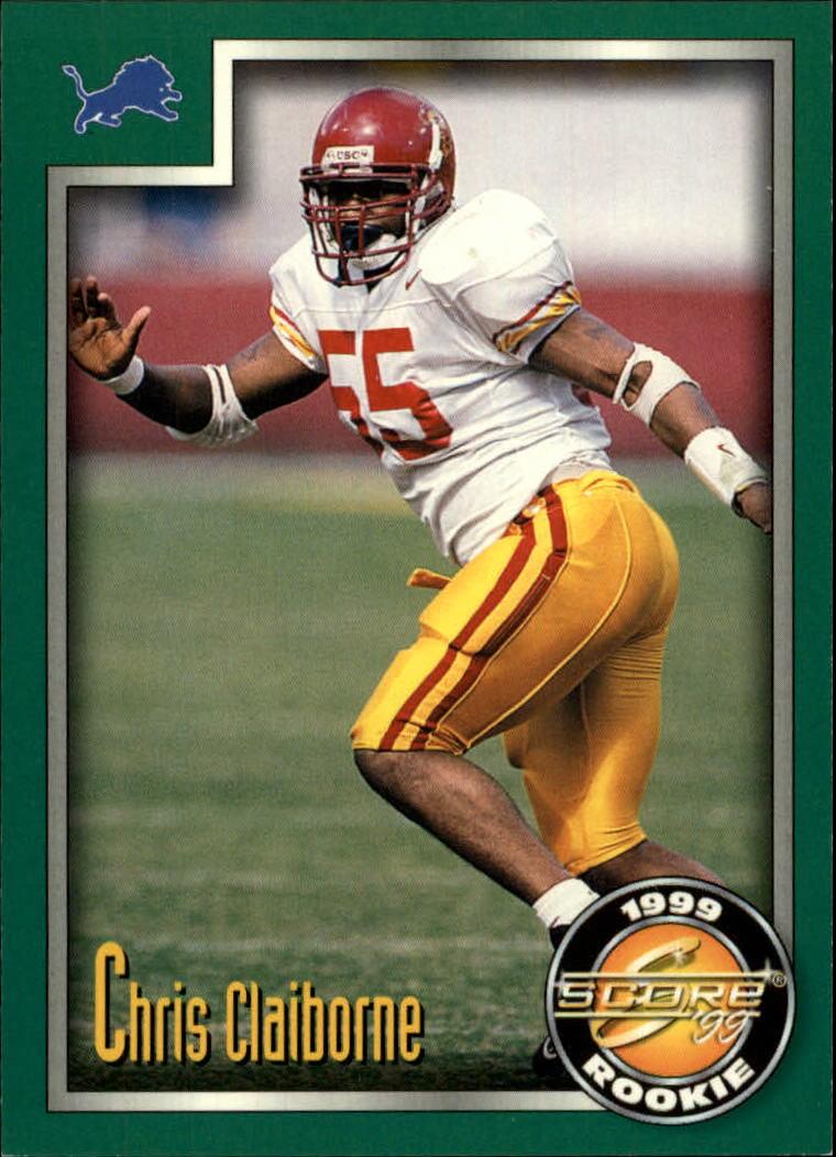 1999 Score #229 Chris Claiborne RC