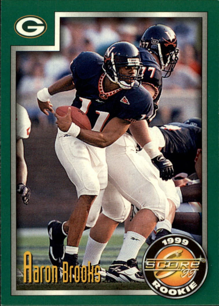 1999 Score #244 Aaron Brooks RC