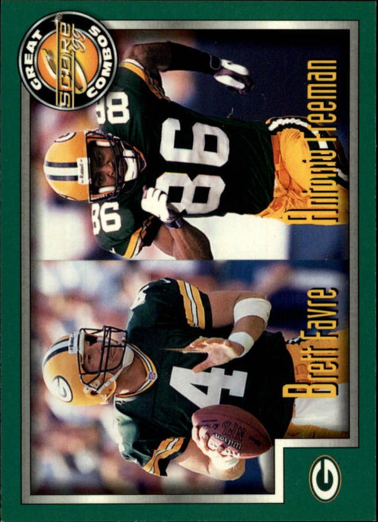 1999 Score #273 B.Favre/A.Freeman GC