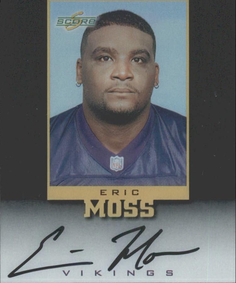 1999 Score Supplemental Inscriptions #EM79 Eric Moss
