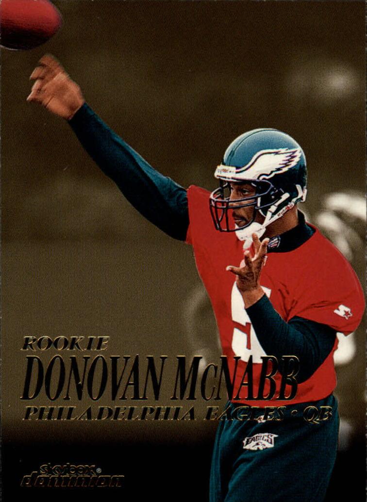 1999 SkyBox Dominion #202 Donovan McNabb RC