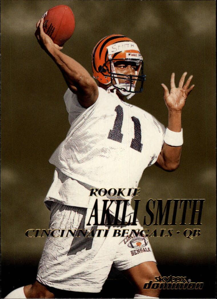 1999 SkyBox Dominion #204 Akili Smith RC
