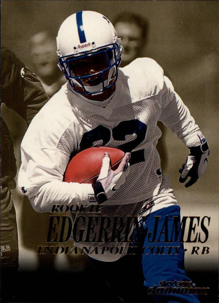 1999 SkyBox Dominion #207 Edgerrin James RC