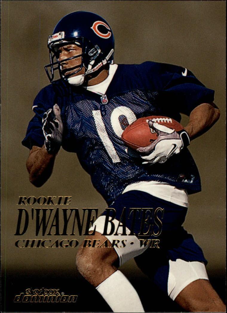 1999 SkyBox Dominion #209 D'Wayne Bates RC