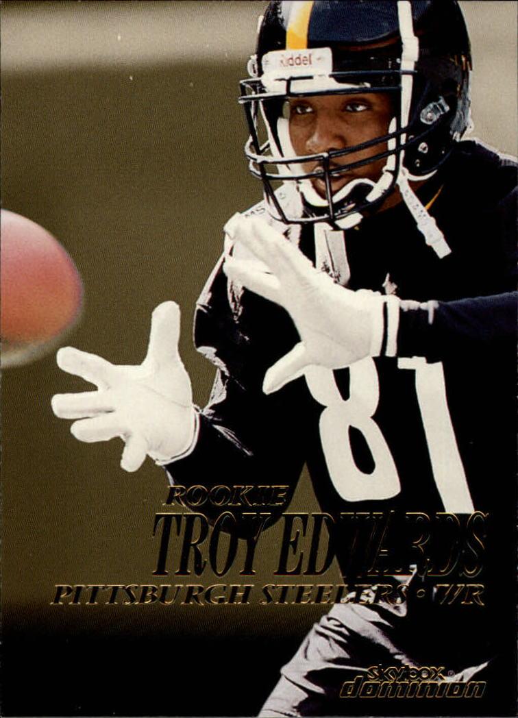 1999 SkyBox Dominion #214 Troy Edwards RC
