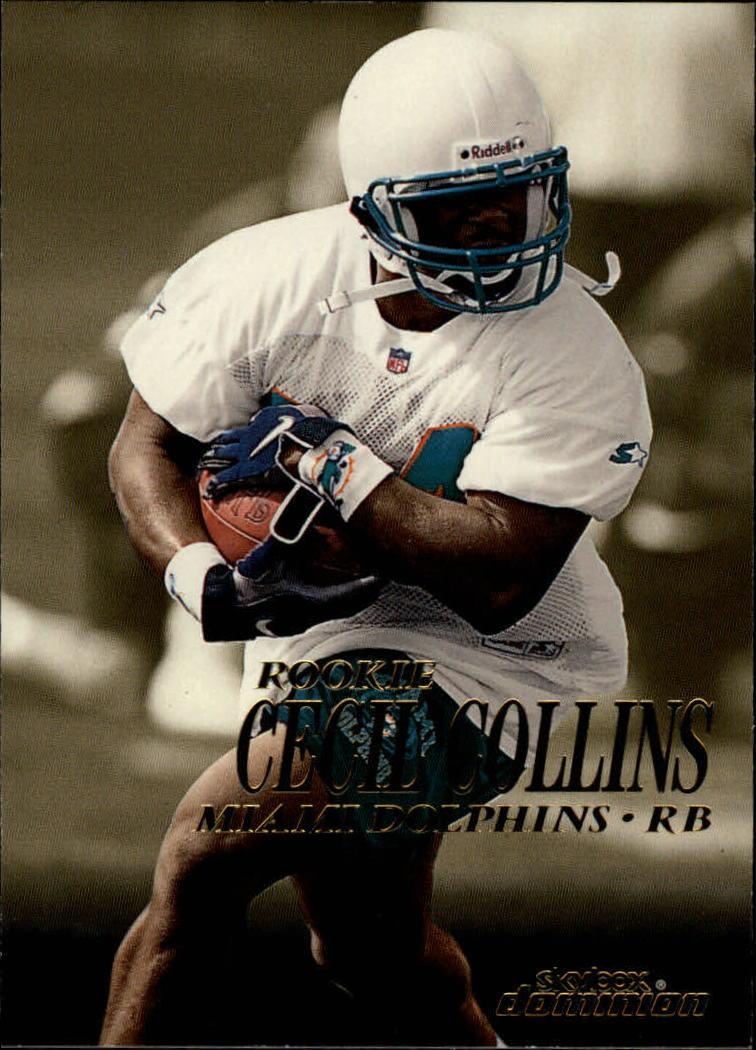 1999 SkyBox Dominion #219 Cecil Collins RC